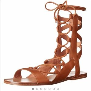 Sigerson Morrison Bunny Sandal. Size 7 in luggage